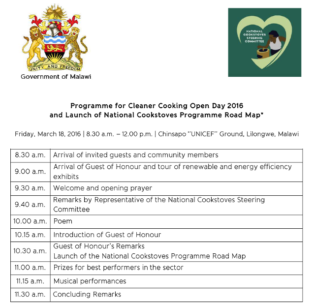 Cleaner Cooking Camp Open Day 2016